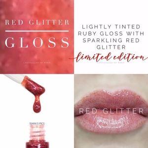 LipSense - Red Glitter Gloss (Limited Edition)